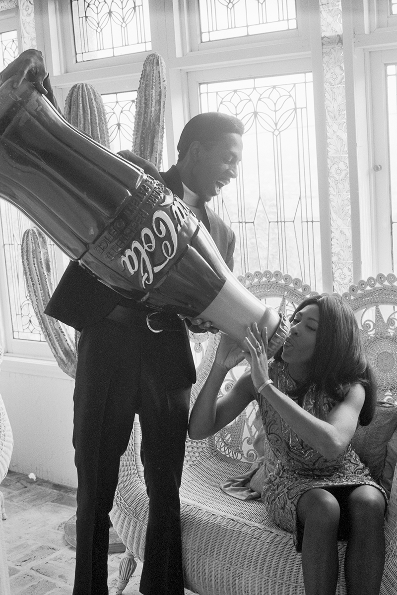 Ike and Tina Turner (1712 House). 1965