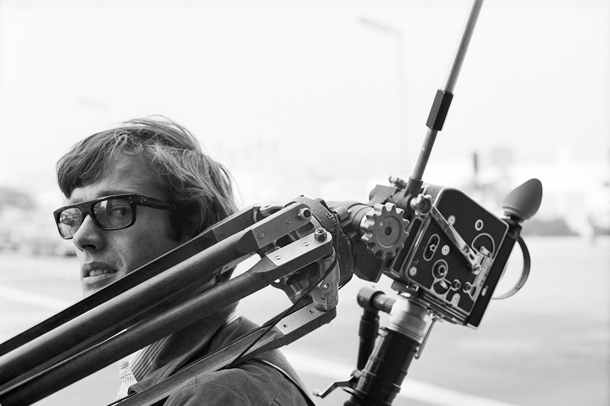 Peter Fonda with Tripod. 1966